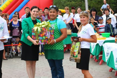 HOT-DOG COOKING CONTEST IN KOSTANAY