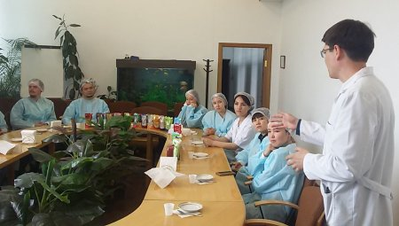 Eurasian Foods Corporation conducts the introduction excursions to the production facility!