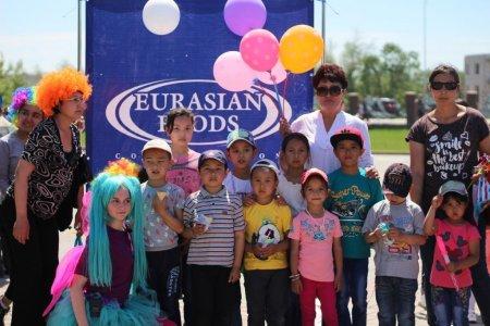 «Евразиан Фудс Корпорэйшн» Холдингі жас отандастарды  халықаралық балалар қорғау күнімен  құттықтады