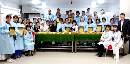 Seminar and culinary master class took place at the plant of Eurasian Foods JSC