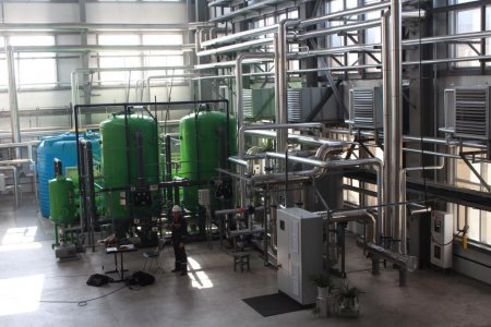Eurasian Foods put into operation a new boiler station in Karaganda